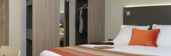 Hotel de Chassieu Lyon Chambres Confort